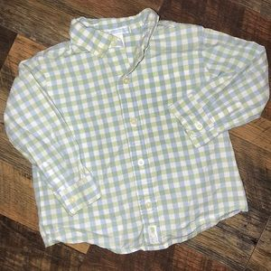 Janie and jack button up shirt 18-24m